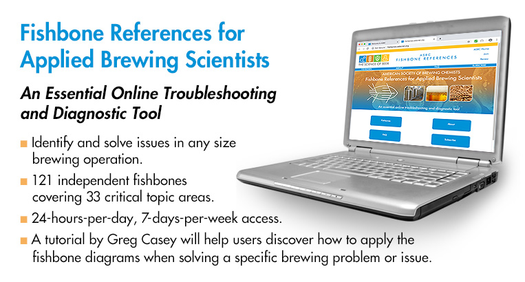 ASBC Fishbone Reference for Applied Brewing Scientists